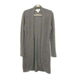 Ply Cashmere Cashmere Open Front  Cardigan
